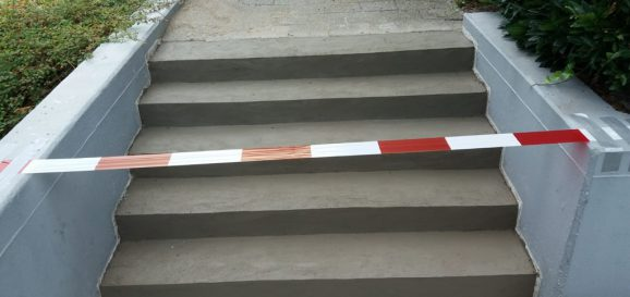 Betonherstel-trap-beton-gesmeerd
