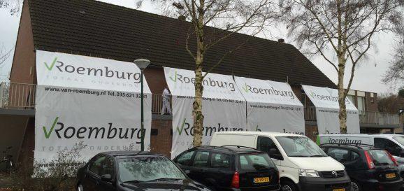 Van Roemburg Totaal Onderhoud schilderszeil